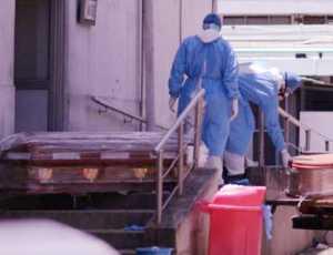 Kamar Mayat Penuh, Korban Covid-19 Ditampung Dalam Kontainer Pendingin