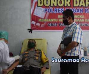 30 Personil Polres Nagan Raya Gagal Donor Darah, Ini Penyebabnya