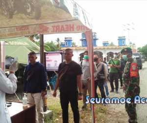 Antisipasi Penyebaran COVID-19, Aceh Barat Perketat Pemeriksaan di Perbatasan