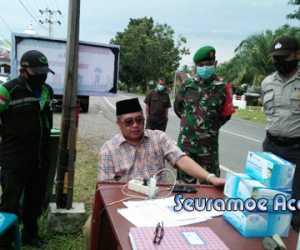 Ramli MS Minta Sementara Waktu Sales Luar Daerah Tidak ke Masuk Aceh Barat