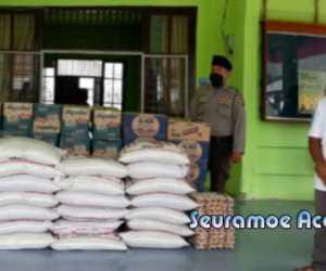 BPBD Salurkan Bantuan Masa Panik Kepada Korban Banjir Tripa Makmur