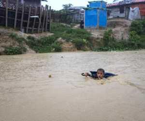 Banjir di Aceh Besar Renggut Nyawa Bocah 6 Tahun