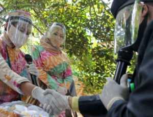 Pernikahan Unik Ditengah Pandemi Corona: Mas Kawin Baju ADP