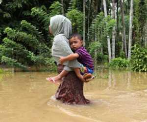 Akibat Banjir, Warga Aceh Utara Keluh Gatal-gatal dan ISPA