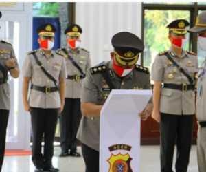 Kapolda Pimpin Sertijab Sejumlah Pejabat Dijajaran Polda Aceh