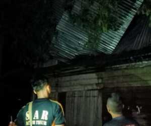 Puting Beliung Hantam Rumah Warga di Aceh Timur