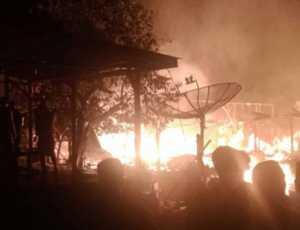 Lima Unit Rumah di Aceh Utara Ludes Terbakar