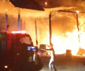 BREAKING NEWS - AMP di Lembah Sabil Abdya Terbakar