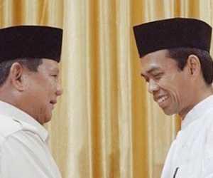 Ustadz Abdul Somad Rugi Besar Dukung Prabowo, Ngaku Harus Bayar Mahal