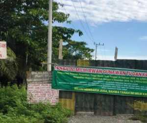 Akses Masuk ke STAIN Meulaboh Disegel, Warga Minta Pembayaran Tanah