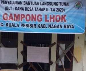 Aset dan Pengelolaan Dana Desa Bermasalah, Warga Segel Kantor Desa di Nagan Raya