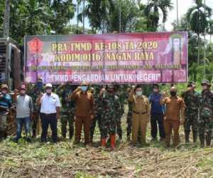 Pra TMMD Kodim Nagan Raya Akan Buka Jalan 1 Km