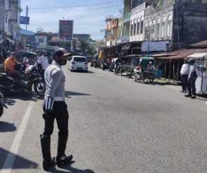 Kerap Timbulkan Kemacetan, Dishub Abdya Tertibkan Pelanggar Rambu Lalulintas