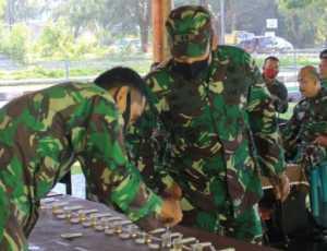 Personil Kodim Aceh Jaya Tes Urine Mendadak, Ini Kata Dandim