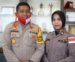 Polwan Aceh Ditugaskan Sebagai Pasukan Perdamaian Ke Afrikah Tengah