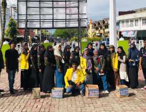 Mahasiswa UTU Galang Dana untuk Korban Kebakaran di Meulaboh