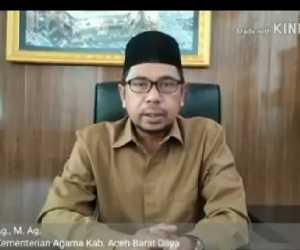 Kepala Kemenag Abdya di Lantik Jadi Kakanwil Kemenag Propinsi Aceh
