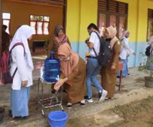 Dengan Dimulai PBM Tatap Muka, SMA 3 Sinabang Siap Terapkan Protokol Kesehatan