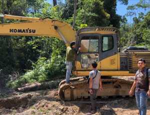 Dua Pelaku Ilegal Logging Diamankan Polres Aceh Jaya