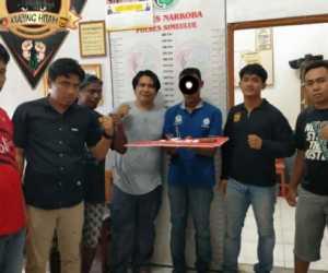 VIDEO - Bawa Sabu, Warga Aceh Barat Ditangkap Polisi Simeulue