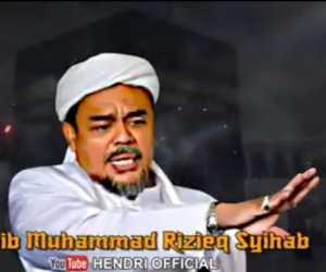Pesan Habib Rizieq: PA 212 Jangan Jadi Underbow Partai Politik