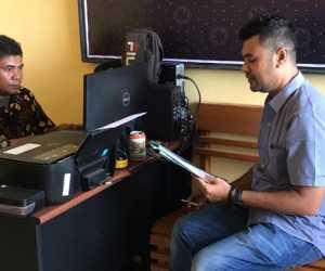 Merasa Difitnah, Anggota DPRK Anton Sumarno Laporkan Za Ke Polres Abdya