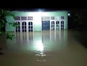 Akibat Hujan Deras, Ratusan Rumah di Aceh Jaya Terendam Banjir