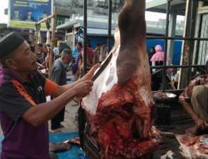 Harga Daging Meugang di Abdya Tembus Rp 200 ribu per kilogram