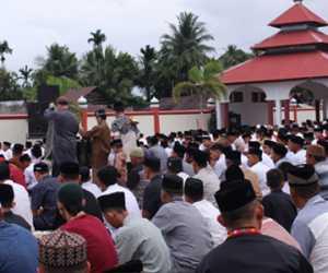 Pengikut Tarekat Syattariyah Nagan Raya Hari Ini Rayakan Idul Adha