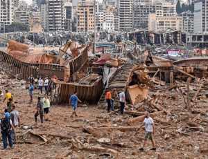 Ledakan di Beirut Mirip Hiroshima dan Nagasaki