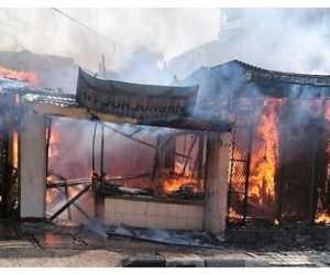 Rumah Makan Padang terbakar, Satu Orang Meninggal dan Dua Terluka