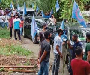 Puluhan Buruh dari Nagan Raya Malam ini Betolak ke Banda Aceh