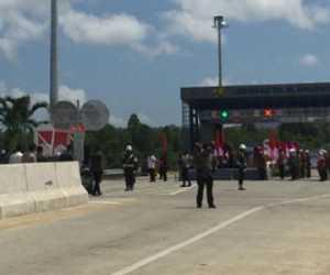 Presiden Jokowi Resmikan Jalan Tol Sigli-Banda Aceh