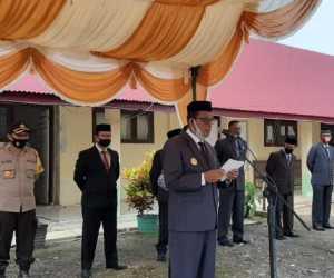 Ditengah Pandemi Pemkab Aceh Jaya Gelar Upacara Hardikda, Begini Kondisinya
