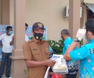 Pemprov Aceh Salurkan APD Untuk Warga Nagan Raya