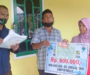 Hari Ini BLT-DD Tahap III di Desa Suka Jaya Simeulue Timur Dicairkan