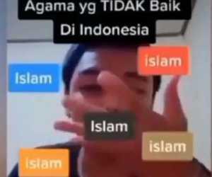 Setelah Nistakan Islam Melalui TikTok, Pelaku: Maaf Cuma Iseng