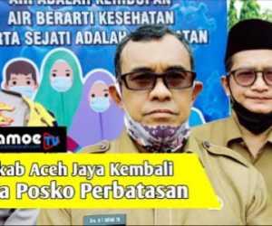 Pemkab Aceh Jaya Keluarkan Perbup Prokes, Ini Sanksi Bagi Pelanggar