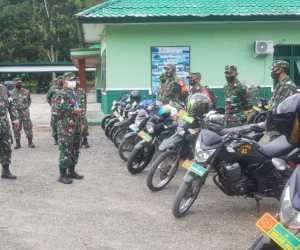 Dandim 0115 Simeulue Cek Kelengkapan Kendaraan Dinas Oprasional Anggota