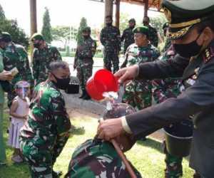17 Prajurit Kodim Aceh Jaya Terima Kenaikan Pangkat