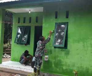 Progres Renovasi RTLH di Abdya Rampung di kejakan Kodim 0110 Abdya
