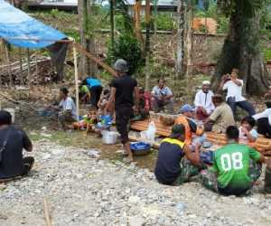 Kodim 0110 Abdya, Bantu Material Untuk Rehab TPA Babul Muklisin