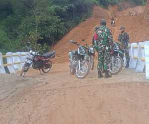 Satgas TMMD Kodim/0110 Abdya Gelar Baksos Pembersihan Jalan Desa
