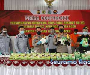 Polda Aceh Berhasil Ungkap Jaringan Peredaran Narkoba
