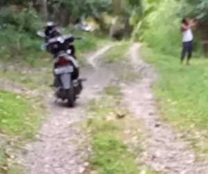 Puluhan Tahun Jalan di Lhok Puntoy Manggeng Abdya, Rusak Parah