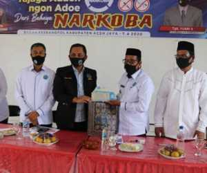Desa di Aceh Jaya Wacanakan Pembuatan Qanun Narkoba, Wabup Angkat Suara