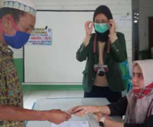 Penyaluran BLT Dana Desa Tahap II Desa Suka Karya Simeulue Berjalan Lancar