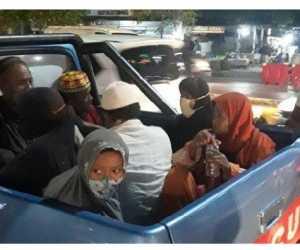 Delapan Gelandangan dan Pengemis di Banda Aceh di Amankan Petugas