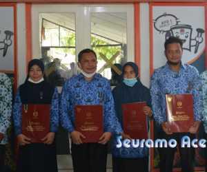 Enam ASN KIP Aceh Barat Terima Penghargaan dari Presiden Jokowi