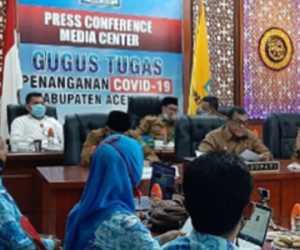 """Bupati Aceh Jaya Irfan TB Buka Pelatihan Daring """"Meugaya"""""""